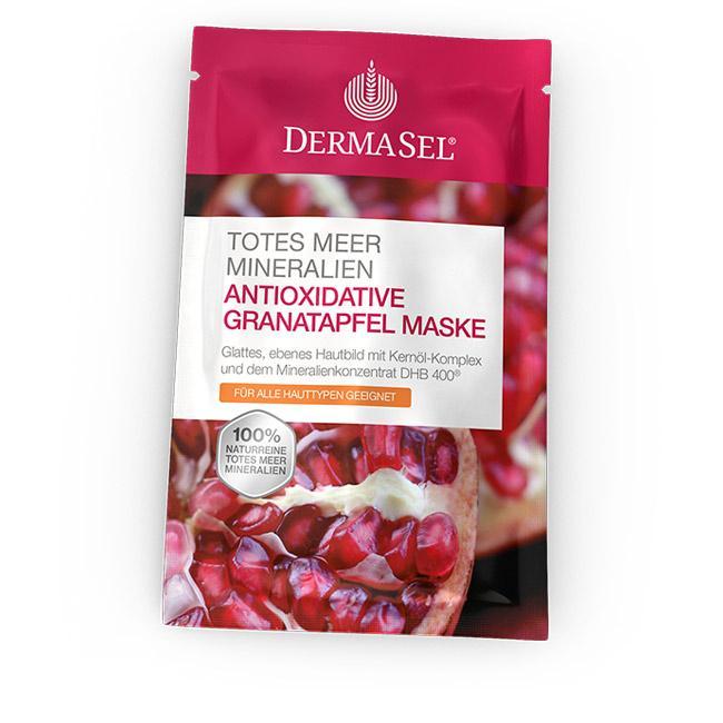 Antioxidative Granatapfel Maske