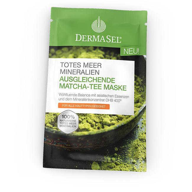 Ausgleichende Matcha-Tee Maske
