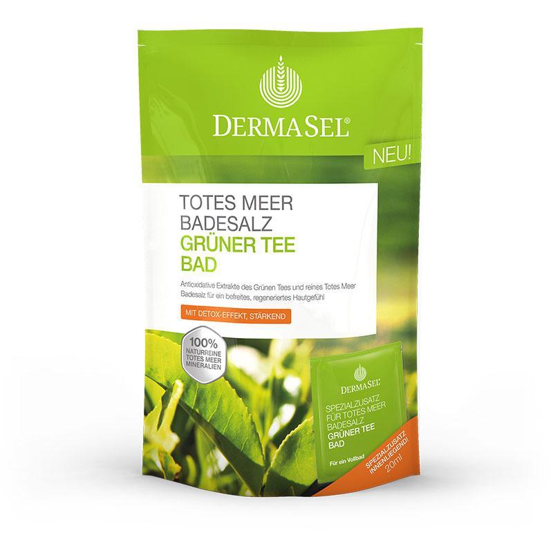 Grüner Tee Badesalz