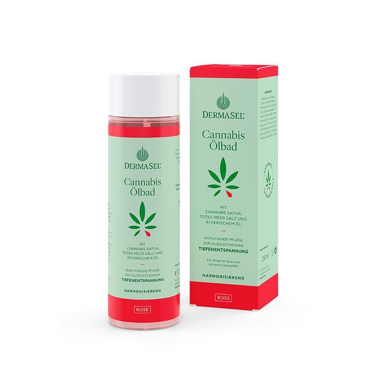Cannabis Ölbad Rose