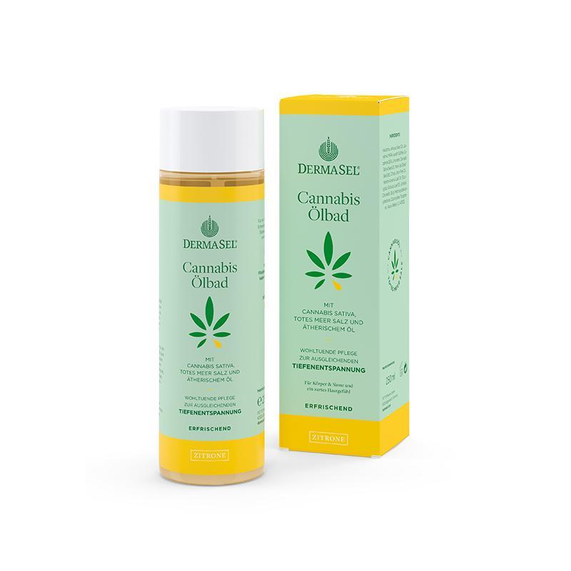 Cannabis Ölbad Zitrone