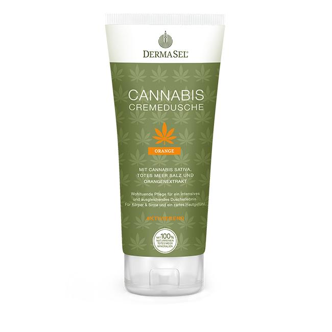 Cannabis <br>Cremedusche Orange</br>